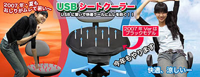 USB-powered Butt Cooler