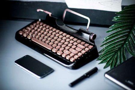 Rymek – una tastiera vintage per il nostro computer o tablet