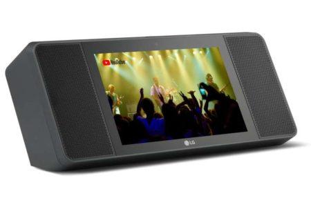 LG XBOOM AI ThinQ WK9, lo smart speaker con display e Google Assistant integrato