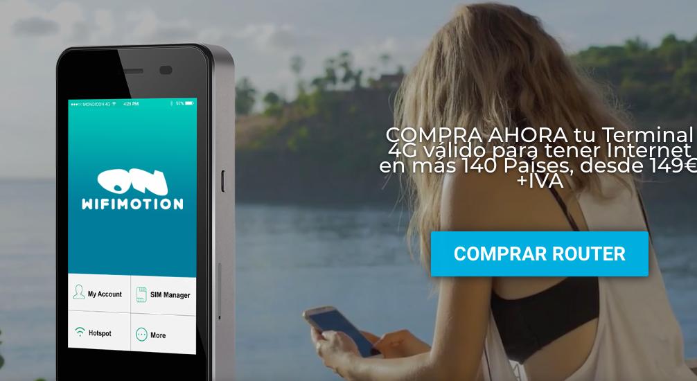 WifiMotion: per una connettività 4G in tutto il mondo
