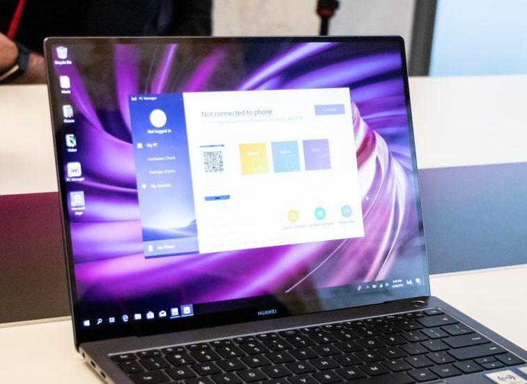 Huawei Matebook X Pro: quando il PC dialoga con lo smartphone