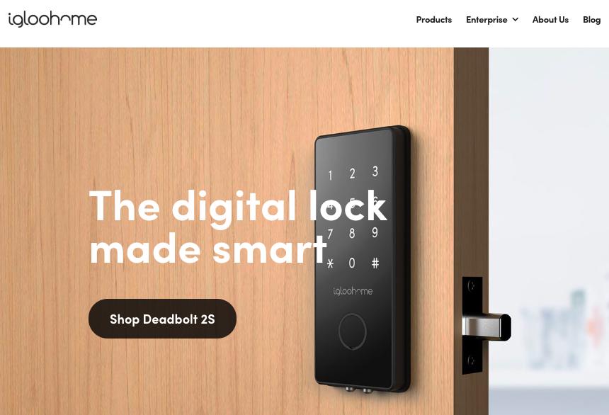 Le serrature intelligenti di Igloohome, con generazione di codice mediante app