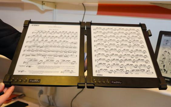 PadMu: un e-reader per i musicisti