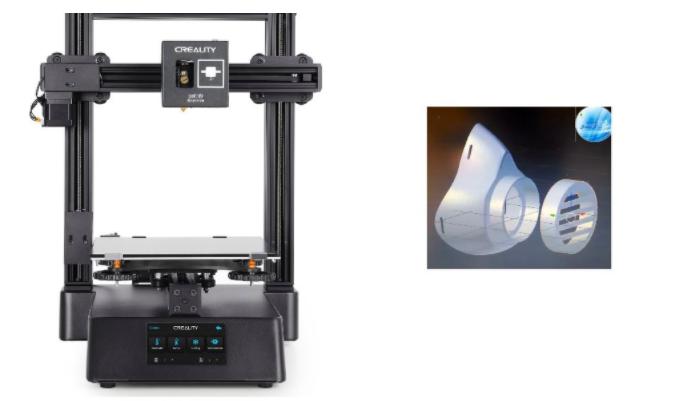 Mascherine protettive fatte in casa con una stampante 3D: dove trovare i file gratuiti