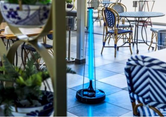 Conga Apolo: un robot germicida ai raggi UV