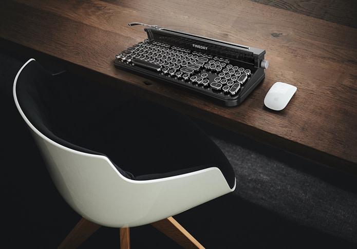 Fineday-Retro Design Bluetooth Mechanical Keyboard – una tastiera rétro ma hi-tech