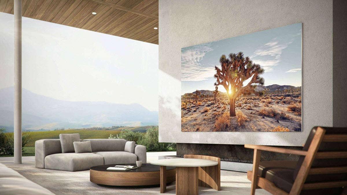 Samsung lancia un nuovo TV MicroLED da 110 pollici