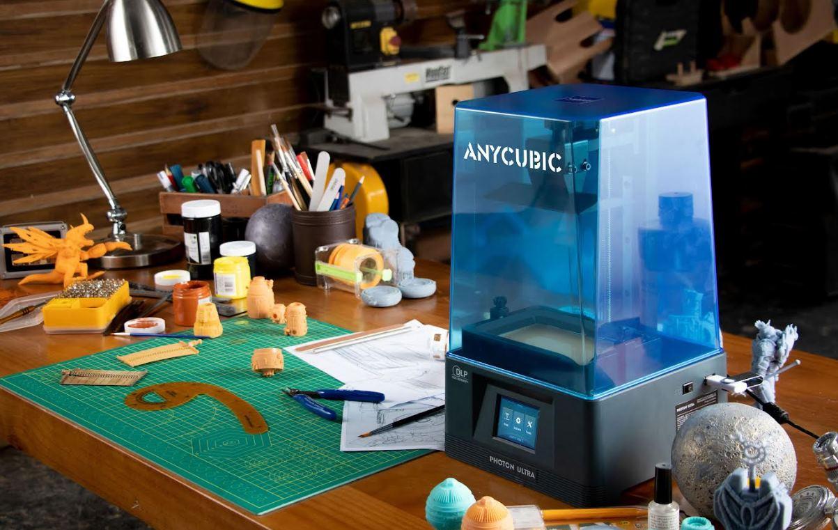 Photon Ultra: la stampante 3D DLP di Unicubic che lavora con la resina
